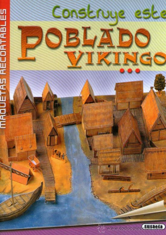 Recortable de poblado vikingo editorial susae comprar for Editorial susaeta