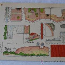 Coleccionismo Recortables: RECORTES CHIQUI-CASAS 12 HOJAS SERIE COMPLETA. Lote 32192330