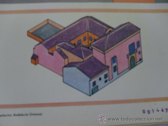 LA CASA DE LOS VARGAS.GRANADA (Coleccionismo - Recortables - Construcciones)