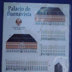 Coleccionismo Recortables: RECORTABLE PALACIO DE BUENAVISTA SEDE CUARTEL GRAL DEL EJERCITO. Lote 32680027