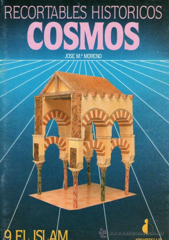 RECORTABLE HISTÓRICOS COSMOS - Nº 9: EL ISLAM - EDITORIAL SALVATELLA - AÑO 1992 (Coleccionismo - Recortables - Construcciones)