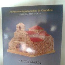 Coleccionismo Recortables: SANTA MARIA DE PIASCA. Lote 220661016