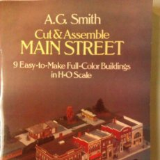 Coleccionismo Recortables: RECORTABLE-...MAIN STREET. Lote 34296378