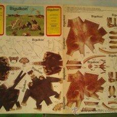 Coleccionismo Recortables: RECORTABLES ROLLAN....MONOS Y CANGUROS. Lote 34392569