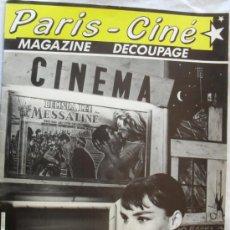 Coleccionismo Recortables: RECORTABLE PARIS CINEMA,COLECCIONISTAS Y CINEFILOS. Lote 34857780