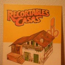 Coleccionismo Recortables: RECORTABLES DE CASAS EDITORIAL OCEANO.1983.NUMEROS DEL 2 AL 8. Lote 35007907