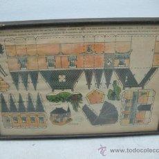 Coleccionismo Recortables: LA TIJERA - RECORTABLES ENMARCADOS SERIE 10 NÚMERO 1 CHALET HOLANDES. Lote 35779725