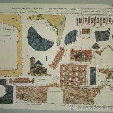 Coleccionismo Recortables: LA TIJERA---SERIE MONUMENTOS NACIONALES-IGLESIA SANTA MARIA(LERIDA). Lote 36587921