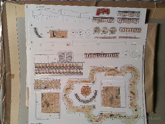 RECORTABLE ...CASTILLO DE MANZANARES EL REAL (Coleccionismo - Recortables - Construcciones)