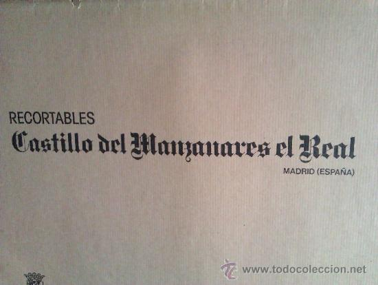 Coleccionismo Recortables: RECORTABLE ...castillo de manzanares el real - Foto 2 - 36626683