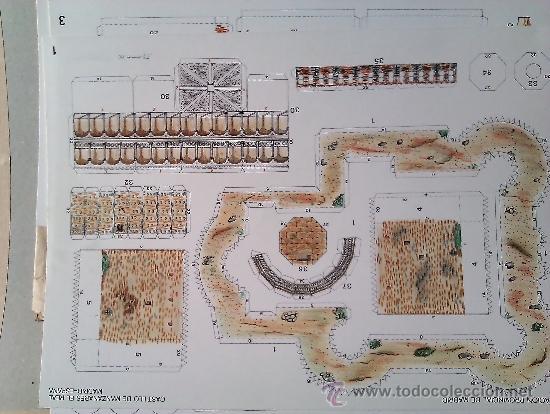 Coleccionismo Recortables: RECORTABLE ...castillo de manzanares el real - Foto 3 - 36626683