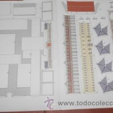 Coleccionismo Recortables: RECORTABLE DE CONSTRUCCIÓN DE EL PERIÓDICO EL CORREO Y LA JUNTA DE ANDALUCIA. Lote 37267963