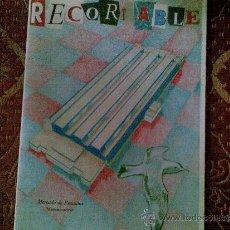 Coleccionismo Recortables: MAQUETA PLANTA MERCAMADRID A ESCALA. Lote 37574388