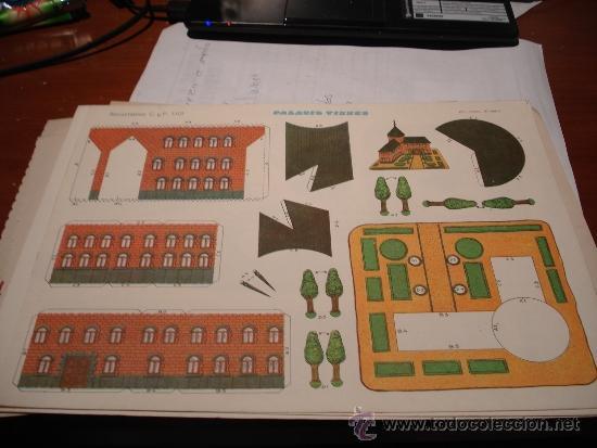 RECORTABLE (Coleccionismo - Recortables - Construcciones)