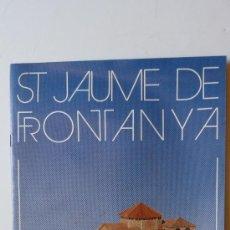 Coleccionismo Recortables: SANT JAUME DE FRONTANYA . MONUMENTO RECORTABLE . SALVATELLA 1988. Lote 38080615