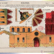 Coleccionismo Recortables: RECORTABLE DE LA IGLESIA. SERIE 5 - Nº 50. EDICIONES LA TIJERA. . Lote 42132650