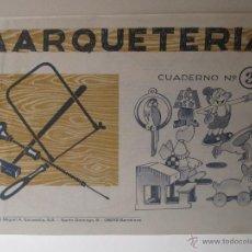 Coleccionismo Recortables: CUADERNO MARQUETERIA Nº 3 ED. SALVATELLA. Lote 42319727