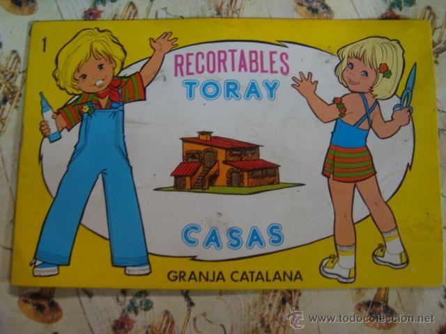 Coleccionismo Recortables: RECORTABLES TORAY CASAS - COLECCION COMPLETA - 1977 - A ESTRENAR DE STOCK DE QUIOSCO - IMPECABLES - Foto 2 - 43913509