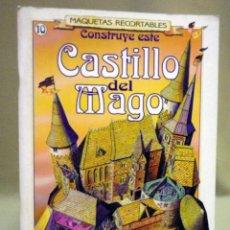 Collectionnisme Images à Découper: LIBRO, RECORTABLE , MAQUETA RECORTABLE, CASTILLO DEL MAGO, SUSAETA, Nº 10, 1991. Lote 44138595
