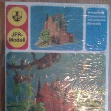 Coleccionismo Recortables: RECORTABLE SCHREIBER JFS MODELL......CASTILLO. Lote 44674679