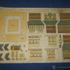 Coleccionismo Recortables: ANTIGUO RECORTABLE - EDICIONES LA TIJERA - SERIE MONUMENTOS Nº 1 - ALCAZAR DE TOLEDO. Lote 44939293