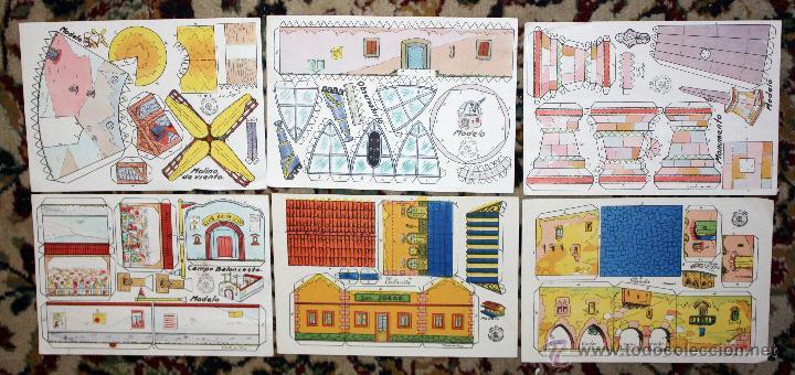 Coleccionismo Recortables: LOTE DE 25 RECORTABLES DE CASAS Y CONSTRUCCIONES. VARIAS SERIES. AÑOS 40-50 - Foto 2 - 45634518