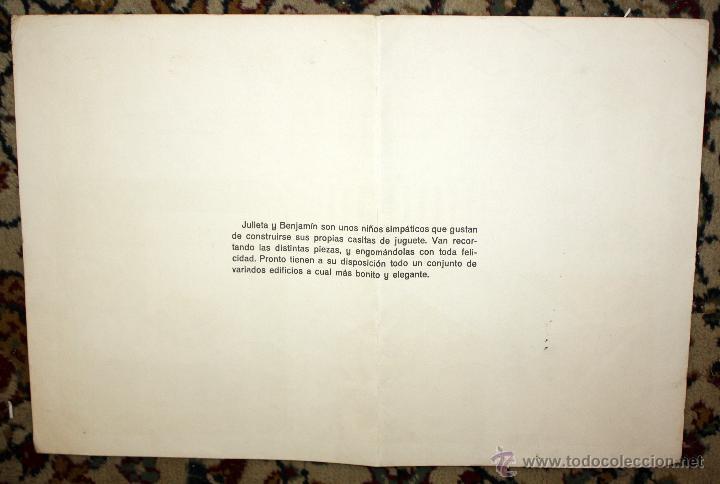 Coleccionismo Recortables: RECORTABLES EVA. LOTE DE 7. AÑO 1965. GRANJA, CASA DE CAMPO Y CHALET - Foto 3 - 45634580
