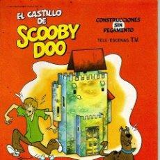 Coleccionismo Recortables: RECORTABLE TROQUELADO EL CASTILLO DE SCOOBY DOO. Lote 45744492