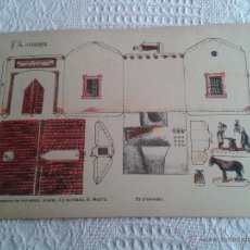 Coleccionismo Recortables: RECORTABLE ANTIGUO HERRADERO Nº 14 SUCESORES DE HERNANDO, MADRID. DE LOS AÑOS 50 O ANTES..... Lote 46324715