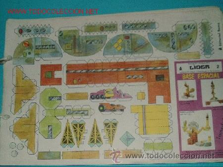 LOTE RECORTABLES CONSTRUCCIONES(10 HOJAS) !!! (Coleccionismo - Recortables - Construcciones)