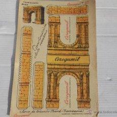 Coleccionismo Recortables: ANTIGUO RECORTABLE CEREGUMIL ( CONSTRUCCIONES ) . Lote 47067345