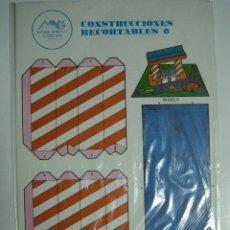 Coleccionismo Recortables: CONSTRUCCIONES RECORTABLES Nº5: GASOLINERA. ED.MAVES. 1981 (PRECINTADO). Lote 51182568