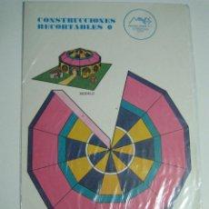 Coleccionismo Recortables: CONSTRUCCIONES RECORTABLES Nº3: CIRCO. ED.MAVES. 1981 (PRECINTADO). Lote 51182579