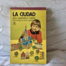 Coleccionismo Recortables: CUADERNO RECORTABLE LA CIUDAD EDICIONES EDAF. Lote 52324711