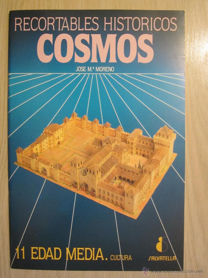 RECORTABLES HISTÓRICOS COSMOS Nº 11 EDAD MEDIA (Coleccionismo - Recortables - Construcciones)