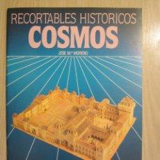 Coleccionismo Recortables: RECORTABLES HISTÓRICOS COSMOS Nº 11 EDAD MEDIA. Lote 52405219