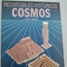 Coleccionismo Recortables: RECORTABLES EN PAPEL - HISTORICOS COSMOS - SALVATELLA - MESOAMERICA. Lote 53055028
