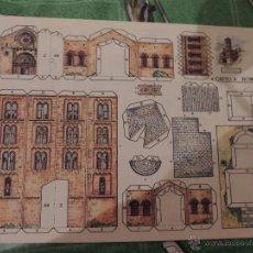 Coleccionismo Recortables: RECORTABLE EDITORIAL ROMA, CAPILLA ROMANICA. Lote 79161111