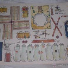 Coleccionismo Recortables: RECORTABLE MOLINO HOLANDES 1983 EDITORIAL ROMA. Lote 54232870