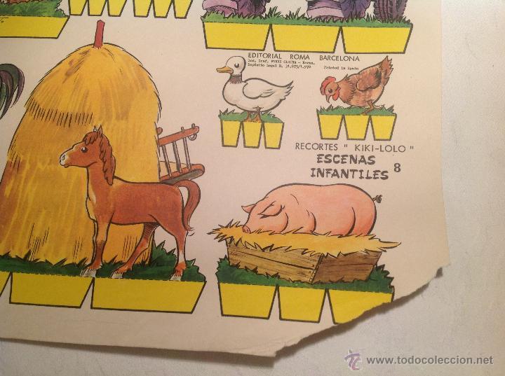 Coleccionismo Recortables: Recortable , escenas infantiles nº 8 - Foto 2 - 54620709