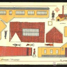 Coleccionismo Recortables: RECORTABLE DE CONSTRUCCIONES: FABRICA (ED.HERNANDO NUM.43). Lote 54687040