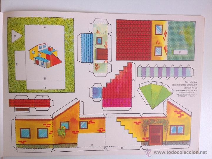 Coleccionismo Recortables: 8 RECORTABLES - MIS CONSTRUCCIONES-EDICIONES BEASCOA -recortable casa - - Foto 2 - 194009581