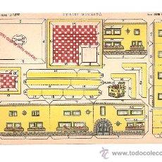 Coleccionismo Recortables: RECORTABLE EDICIONES LA TIJERA SERIE LILIPUT Nº 10 CHALET MODERNO.AÑO 1960.. Lote 94465692