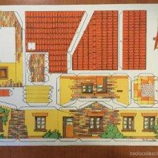 Coleccionismo Recortables: RECORTABLE SERIE EDIFICIOS Nº 24 CONSTRUCCIONES PEPI.. Lote 55780408