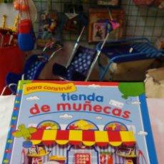 Coleccionismo Recortables: TIENDA DE MUÑECAS TROQUELADA.TODOLIBRO 90S.NUEVO.. Lote 275291838