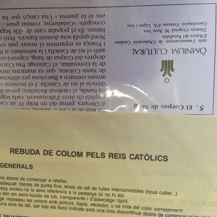 Coleccionismo Recortables: GRAN RECORTABLE. EL CORPUS DE SANG. 8 LAMINAS. 50X34. - Foto 2 - 56330307