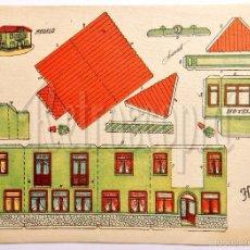 Coleccionismo Recortables: LAMINA RECORTABLE MODELO HOTEL POR ANARANT (21,5 X 16 CM). Lote 57765123