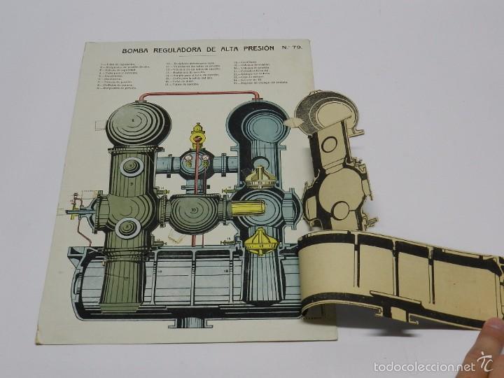 Coleccionismo Recortables: RECORTABLE DE BOMBA REGULADORA DE ALTA PRESION, N. 79, MIDE 31 X 21,5 CMS. - Foto 2 - 60921563