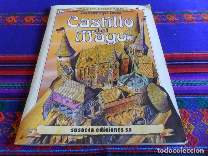 MAQUETAS RECORTABLES Nº 10 CONSTRUYE ESTE CASTILLO DEL MAGO. SUSAETA 1991. BE. RARO. (Coleccionismo - Recortables - Construcciones)