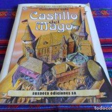 Coleccionismo Recortables: MAQUETAS RECORTABLES Nº 10 CONSTRUYE ESTE CASTILLO DEL MAGO. SUSAETA 1991. BE. RARO.. Lote 61822080
